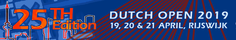 Dutch Open | 2 - 3 april 2016